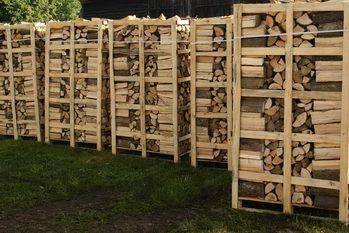 Drewno kominkowe podsuszane Buk, Jesion, Brzoza