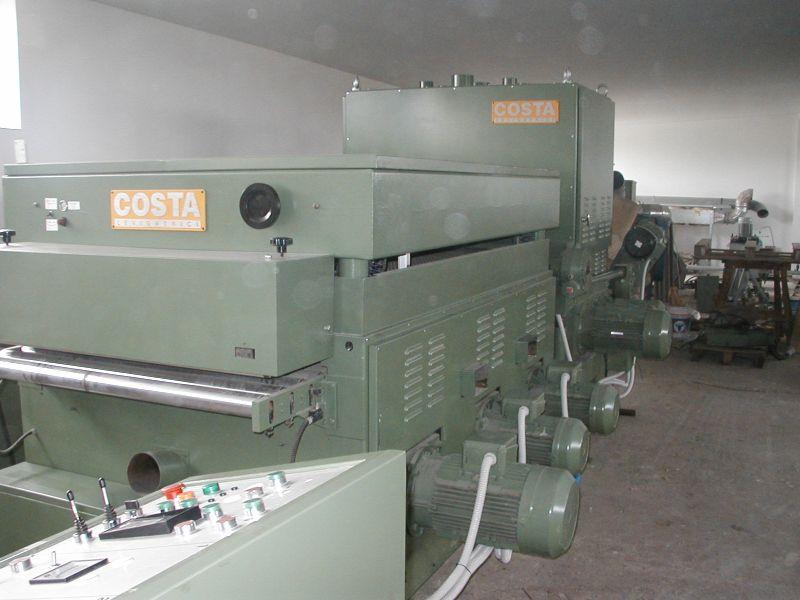 Linia szlifierska COSTA - 6 agregatów.