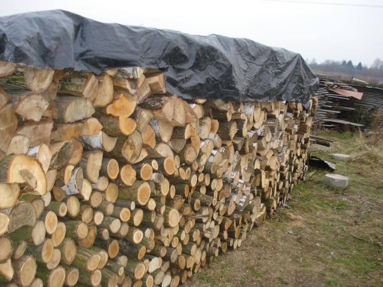 Drewno opałowe kominkowe, rąbane (dąb) 2-3 m3 Wola k.Pszczyny