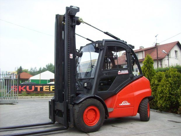 Wózek widłowy Linde H50D/394