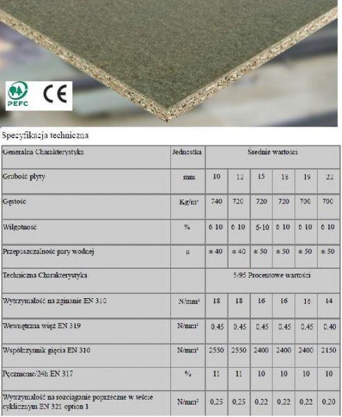 Konstrukcyjna Płyta Wiórowa-substytut OSB 4(DURALY)