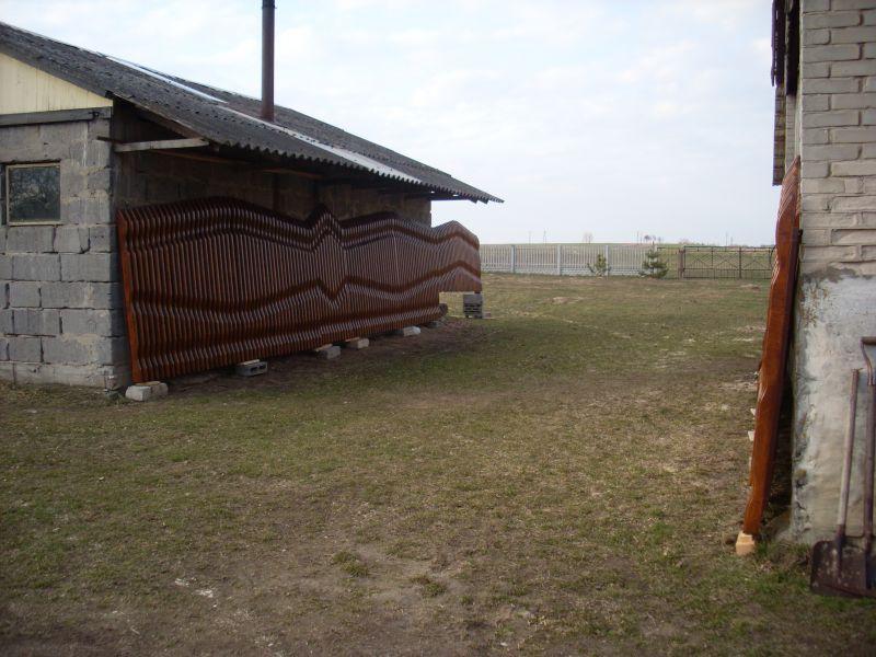 przęsła sztachetkowe bramy