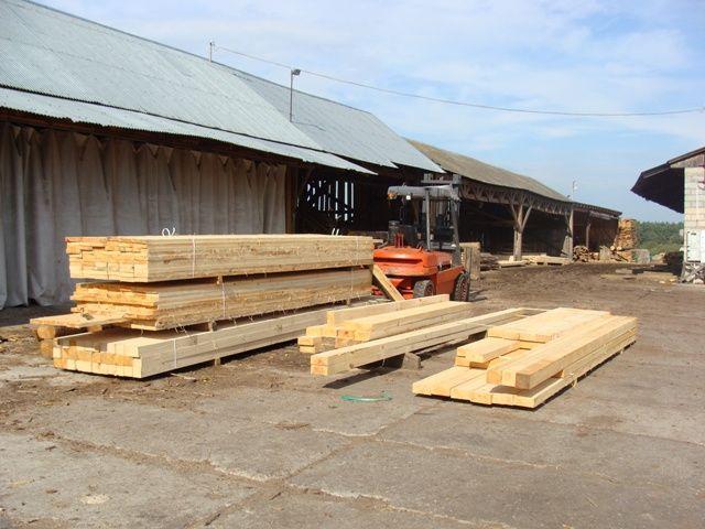 więźba dachowa, łaty, kontrłaty,deska budowlana