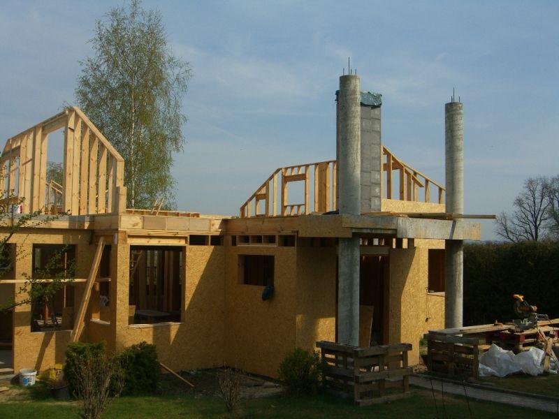 Domy szkieletowe, domy kanadyjskie, budowanie od podstaw, obróbka drewna klejonego małopolska
