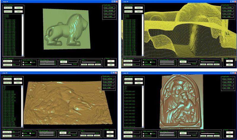 Skaner 3D do CNC