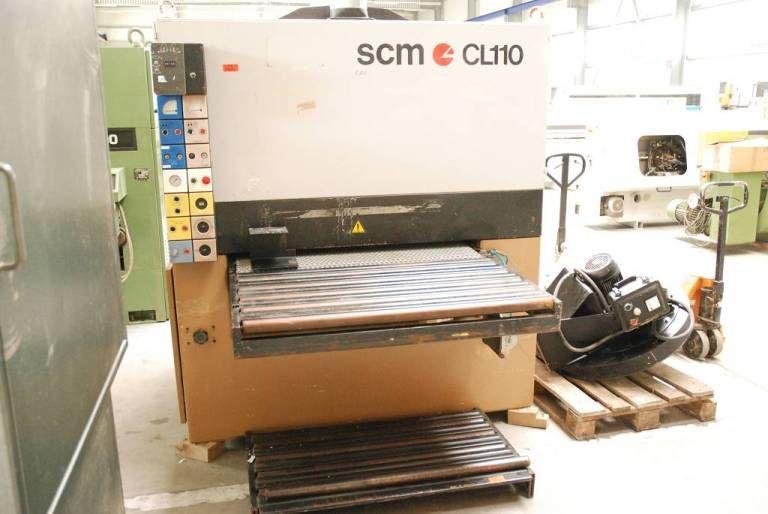 Szlifierka szerokotasmowa SCM CL 110