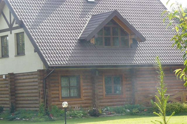 Domy cedrowe całoroczne