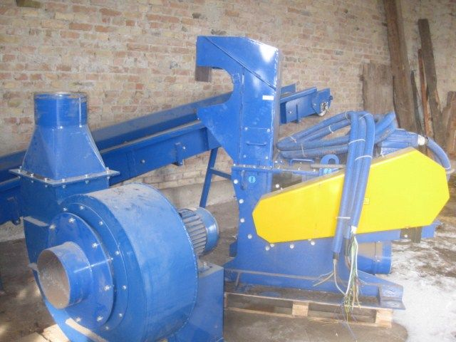 Linia do Rozdrabniania Zrębki Biomasy na Trociny