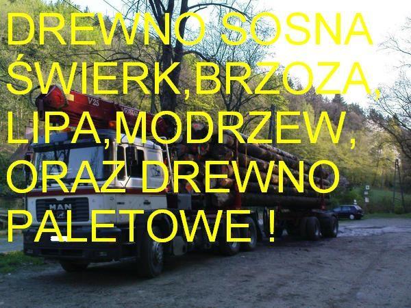 SPRZEDAM DREWNO OKRĄGŁE SUROWIEC TARTACZNY OD 280 zł
