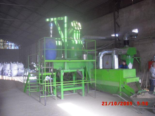 Linie do produkcji pellets ze słomy i trociny