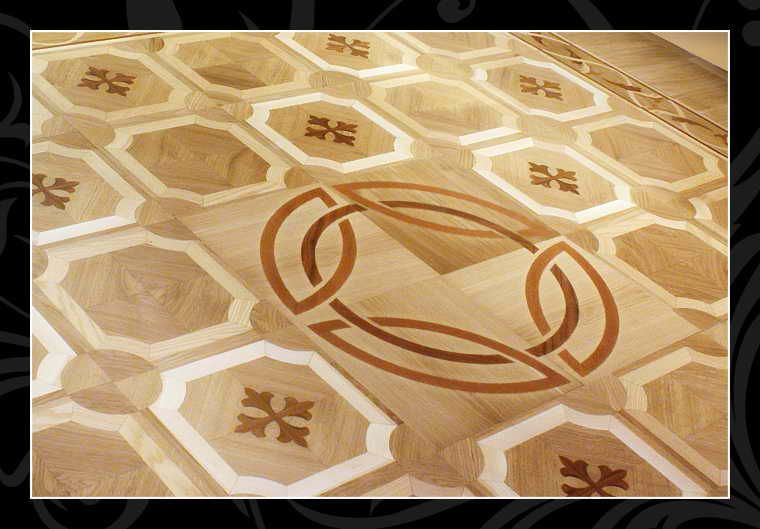 Mansion inlay-floors
