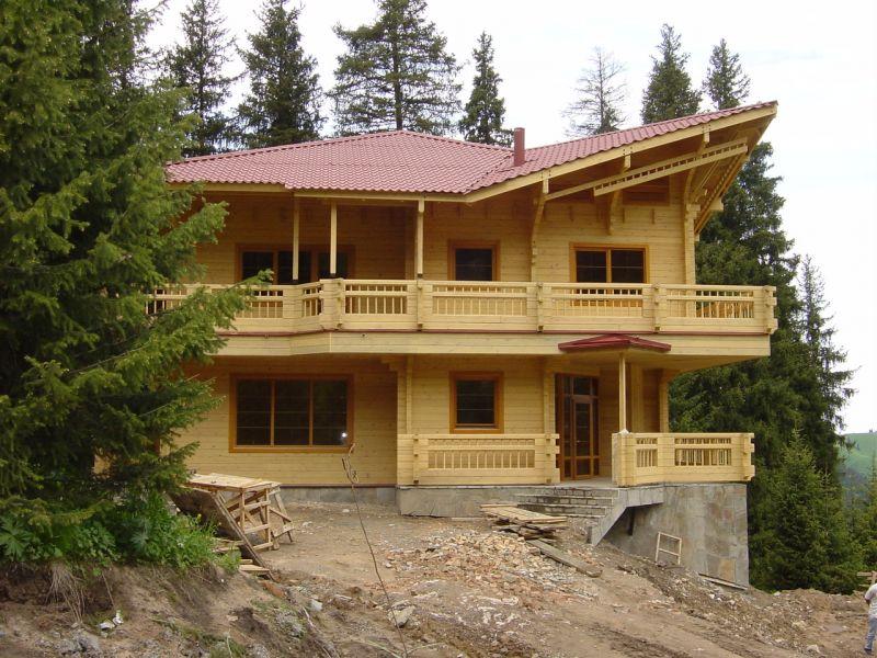 Budujemy domy z BALA OKRAGLEGO i KANTOWKI - konkurencyjne ceny