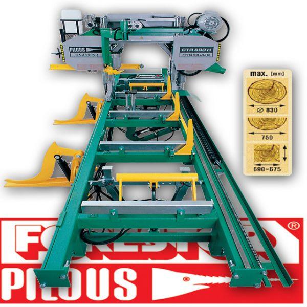 Trak taśmowy 800 Hydraulik Pilous Forestor