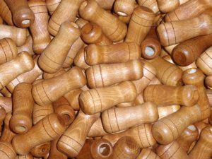 Produkcja trzonków, gałek drewniane toczone wg wzoru klienta