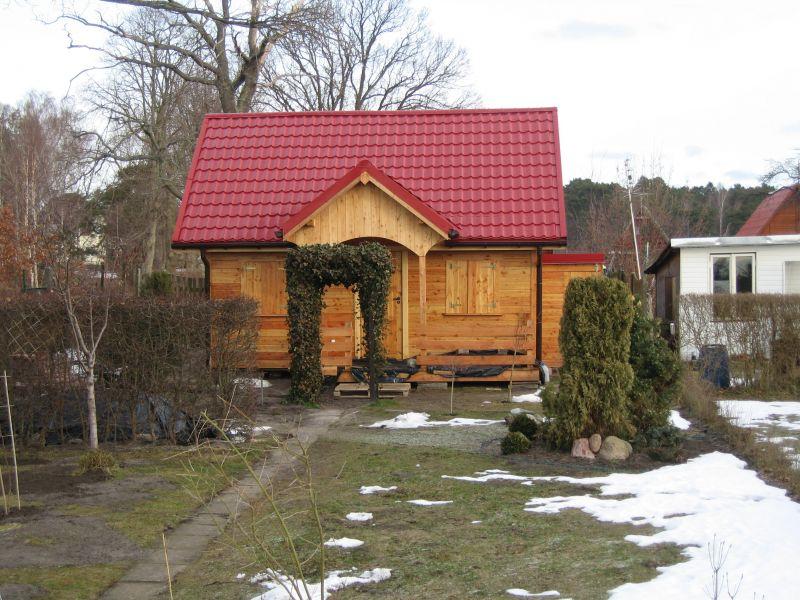 domki z modrzewia