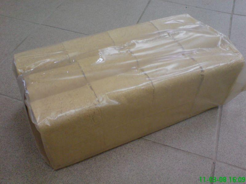 Brykiet RUF sosnowy - 435 zł. netto tona