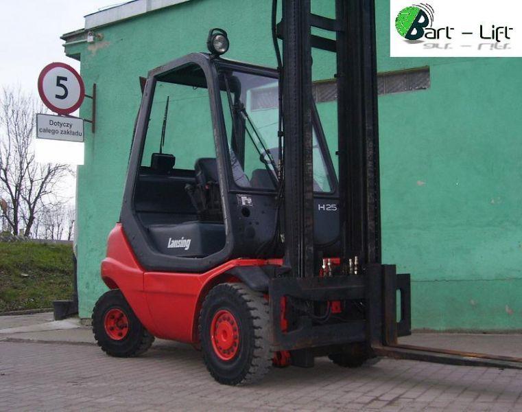 Linde H25T LPG, 2002r. 24000 pln netto