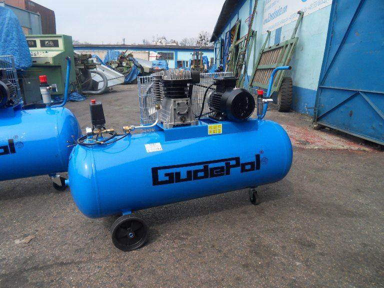 Komprsor tłokowy GUDEPOL -200l