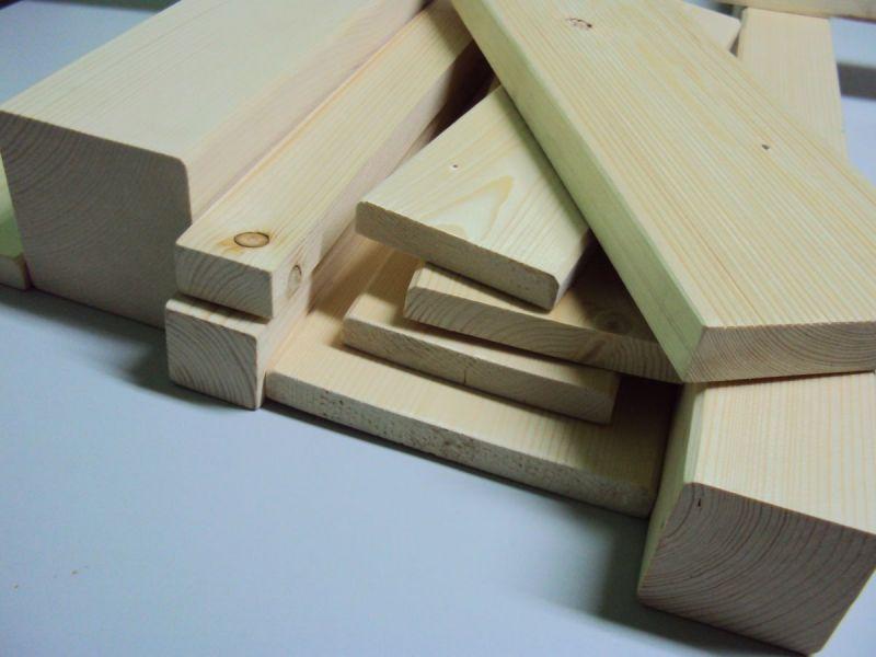 Tarasy, kantówki, inne drewno strugane