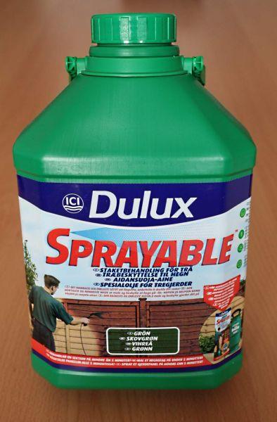 Impregnat natryskowy do drewna ( ogrodzenia ) Dulux 5L