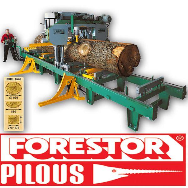Trak taśmowy 950 Hydraulik Pilous Forestor