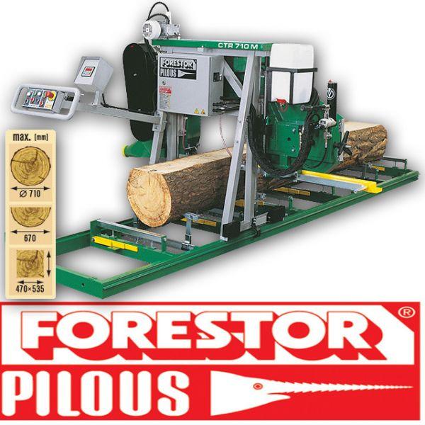 Trak taśmowy CTR 710M  Pilous Forestor