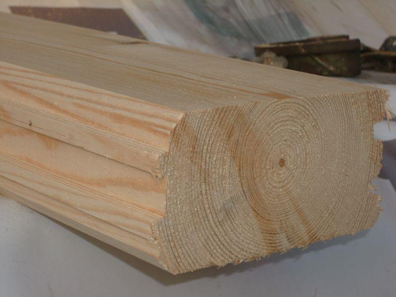 Bale Sosnowe Strugane Lite Na Dom Drewniany