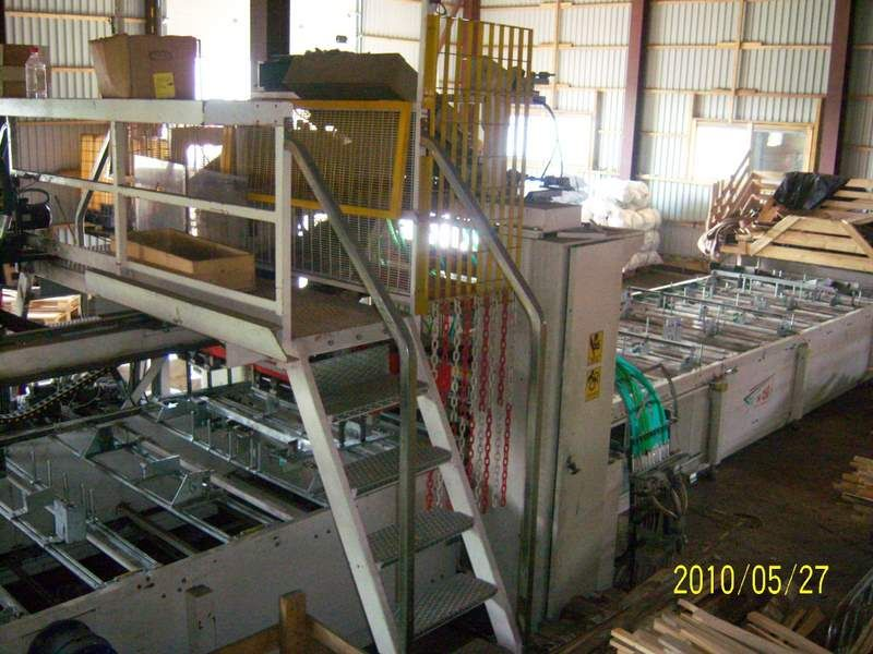 Pallet nailing machinery