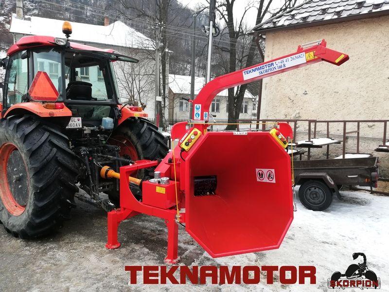 Rębak ciągnikowy Skorpion 160R