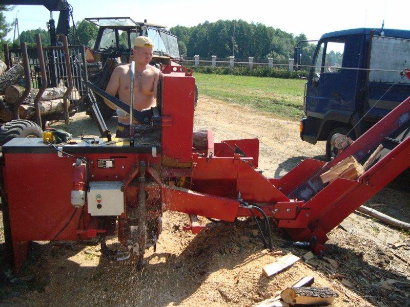 Piło-łuparka JAPA 370 E8T Rok 2008