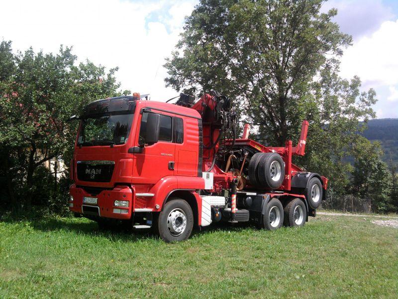 drewno tartaczne i paletowe z transportem