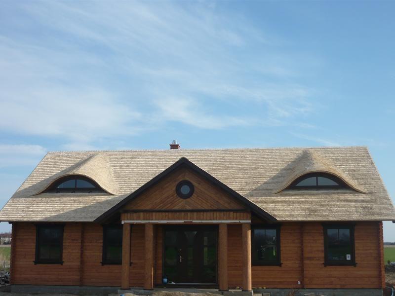 Drewniane Domy Dachy z Wióra Budujemy Domy Dachy