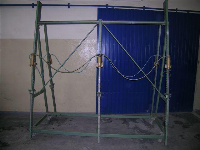 Prasa ramowa pneumatyczna firmy MAWEG