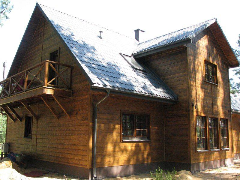 Budowa domów drewnianych i z bala, projekty