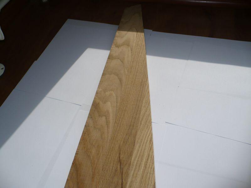 Stopnie schodowe (klejonka)