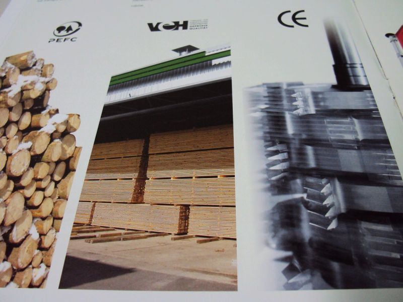 Drewno budowlane obrabiane