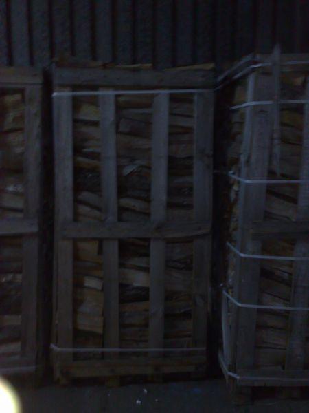suche drewno kominkowe