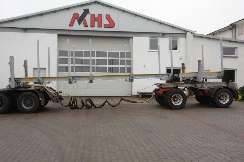 Nakładka MHS do transportu drewna