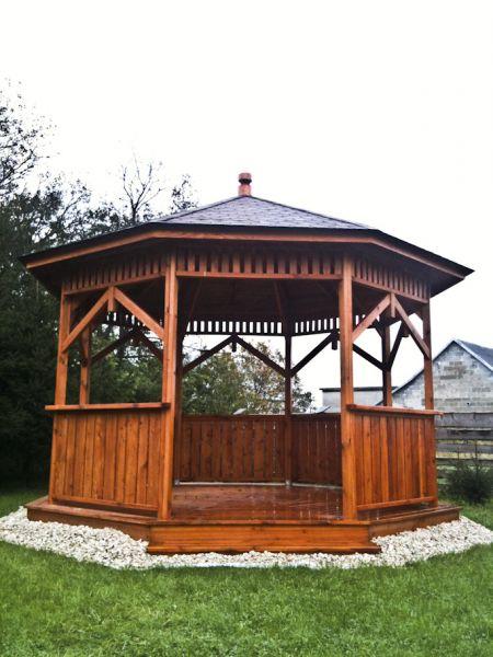 Meble ogrodowe, altany, stoły, krzesła, place zabaw