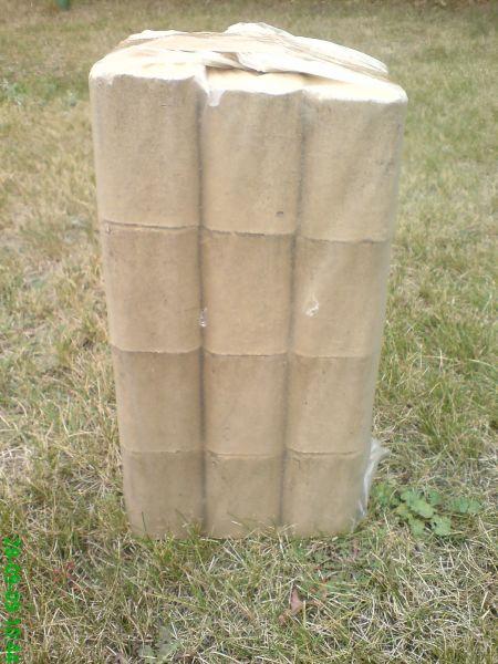 Brykiet drzewny RUF - 4 ładunki - 530 zł. netto tona.