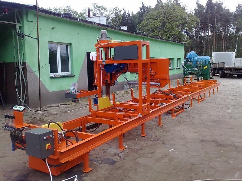 TRAK POZIOMY A-1200 PRODUCENT  ZAPRASZAMY na Targi DREWOOD  18-20 marca 2011