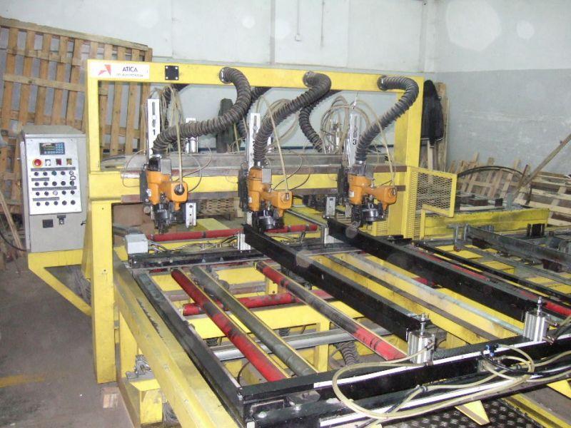 zbijarka do palet CNC ATICA VAB 160 U