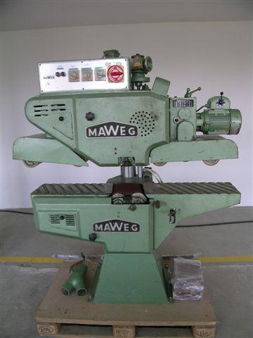 Szlifierka przelotowa Firmy MAWEG