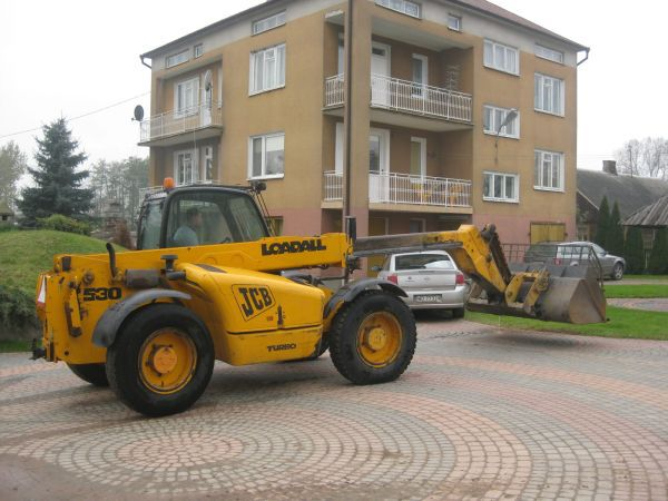 JCB 530-70 2000r Łyżka+Widły