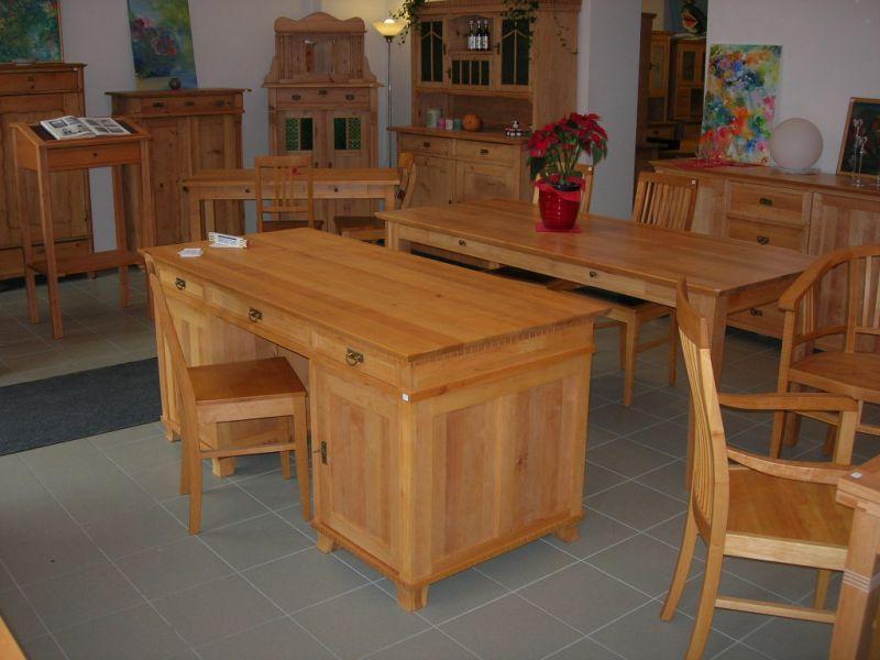 PRODUCENT MEBLI z litego drewna (olcha,sosna,buk,dąb) poszukuje zleceń