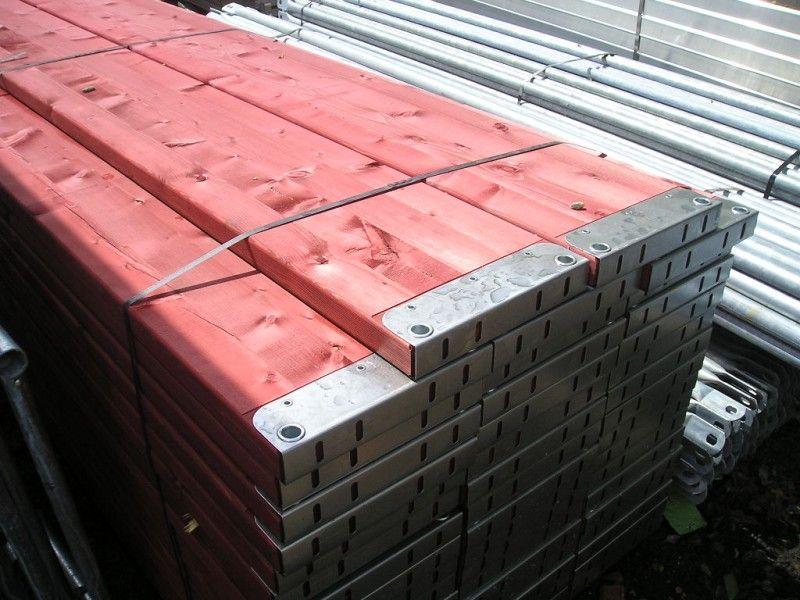 Podesty drewniane na rusztowania