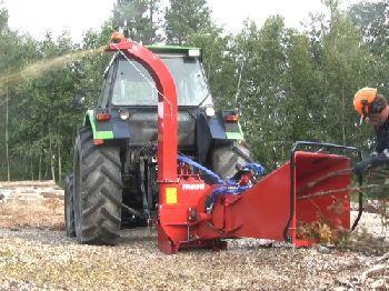 profesjinalny fiński rębak do drzewa Farmi Forest