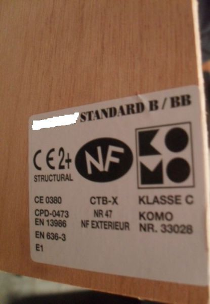 Sklejka Okume 4 mm B/BB