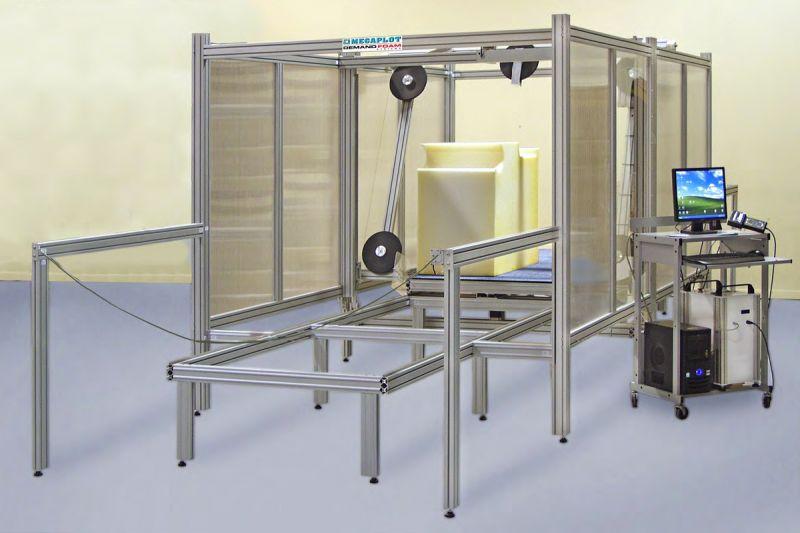 Maszyny do cięcia pianki tapicerskiej (gąbki poliuretanowej)