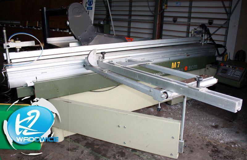 Piła formatowa SCM , sterowanie CNC